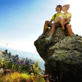Turisti vo Vysokých Tatrách