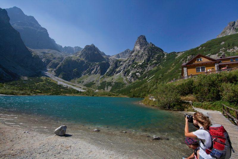 Turisti Vysoke Tatry