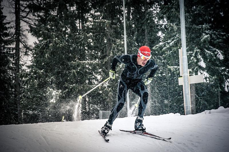 2. miesto Biatlon - Michal Kravec