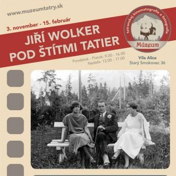 Wolker v Muzeu tatranskej kinematografie