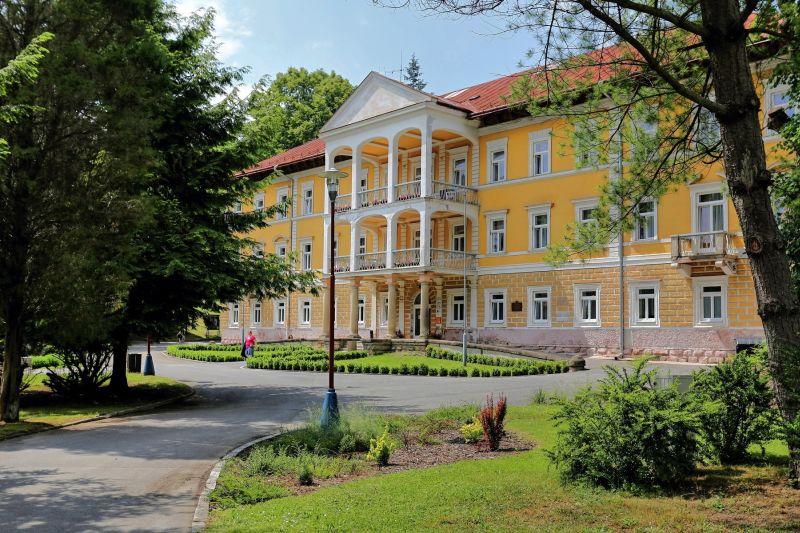 Bardejosvke kupele - hotel Alzbeta