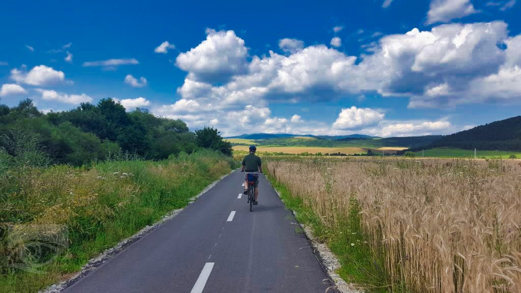 EuroVelo11 vo Veľkom Šariši Zdroj: OOCR Región Šariš