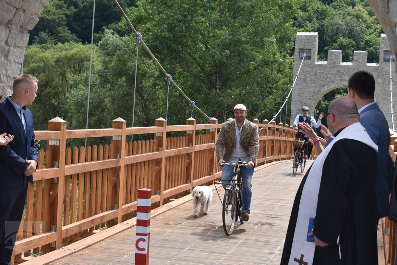Krst trasy, Zdroj foto: Mesto Veľký Šariš