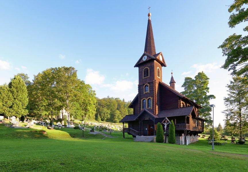 07a40e219 Drevený Kostol sv. Anny, Tatranská Javorina | Severovýchod.sk