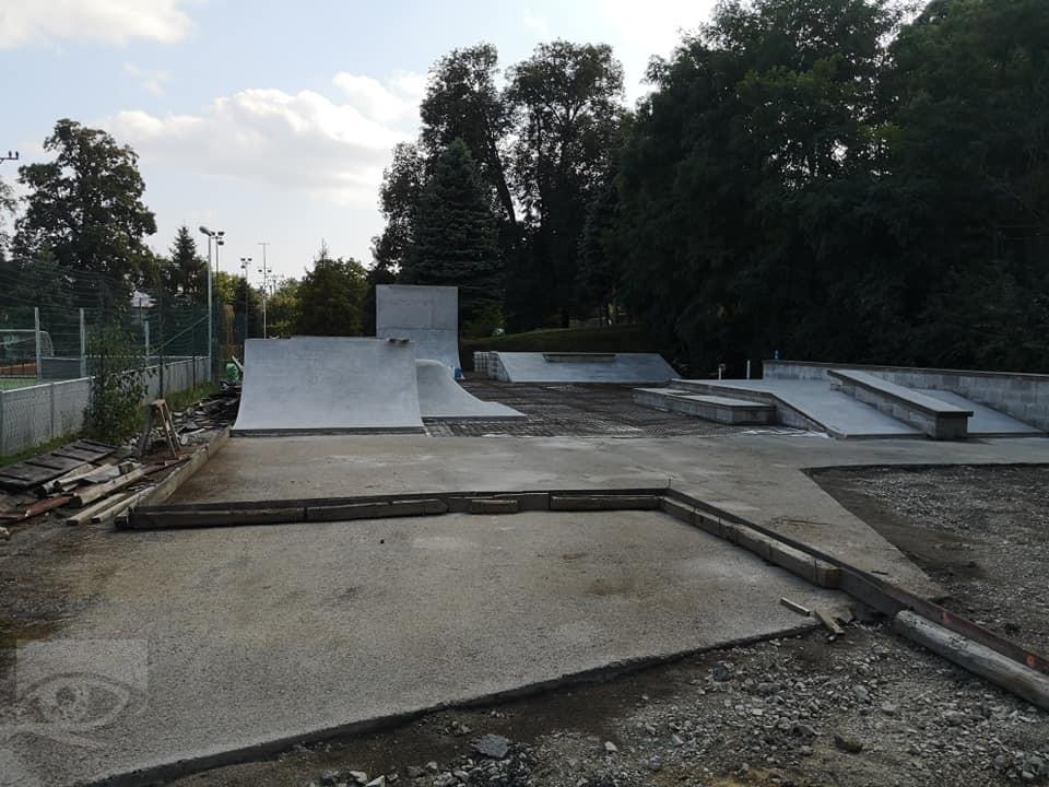 Skatepark vo Veľkom Šariši, Zdroj: Mesto Veľký Šariš